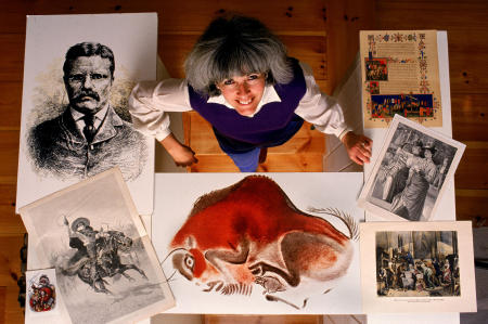 An archivist shares some of her rare art.